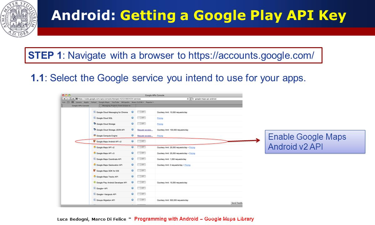 Android: Getting a Google Play API Key