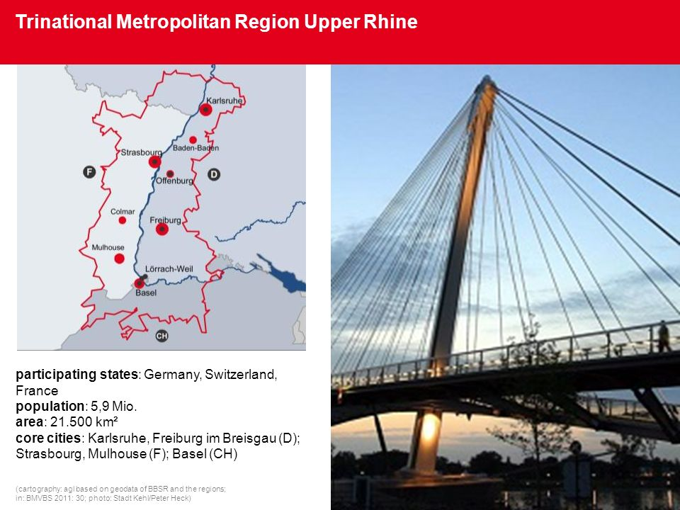 Trinational Metropolitan Region Upper Rhine