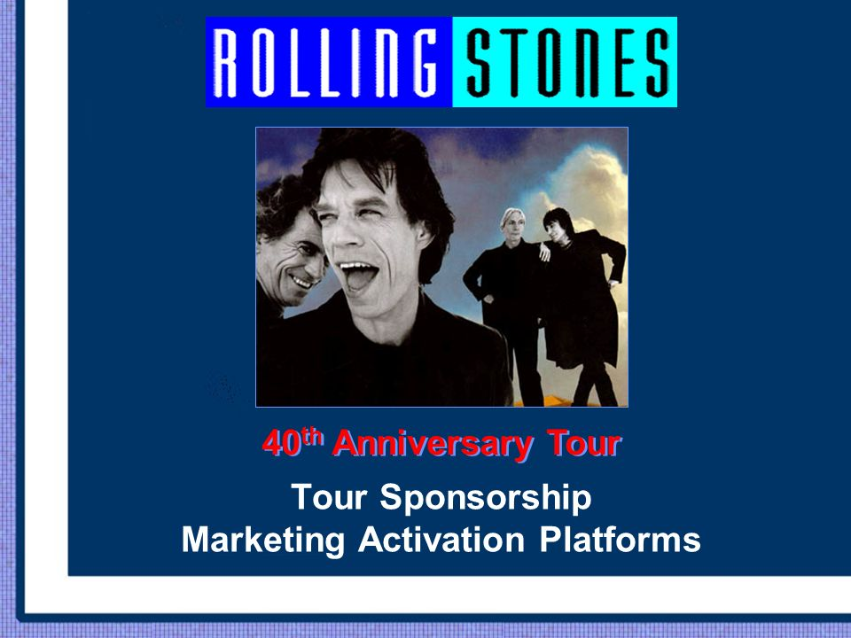 Tour Sponsorship Marketing Activation Platforms