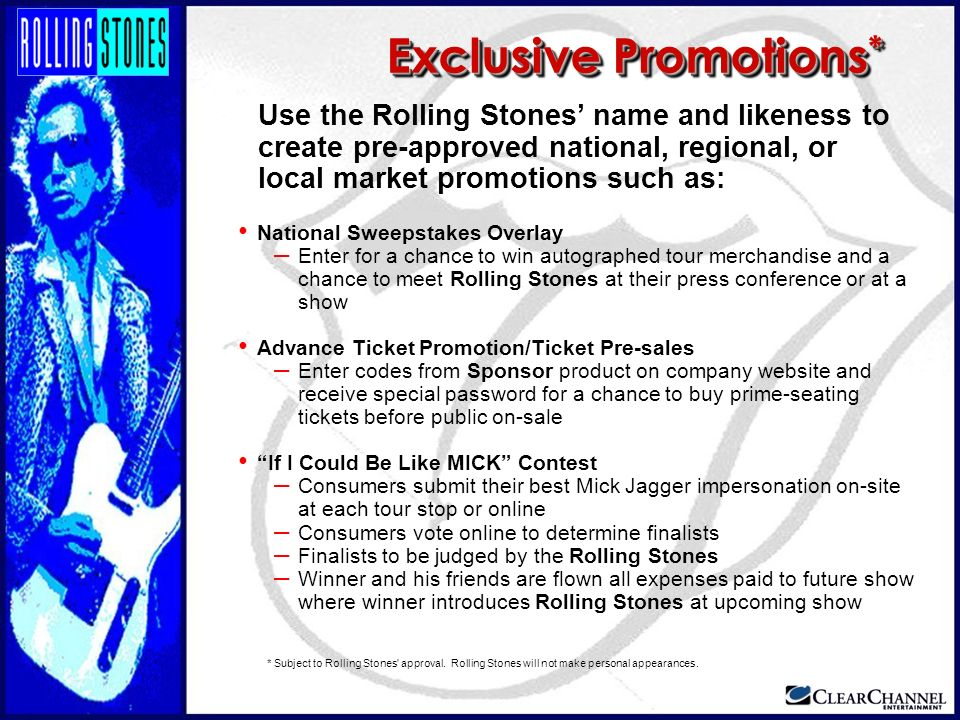 Exclusive Promotions*