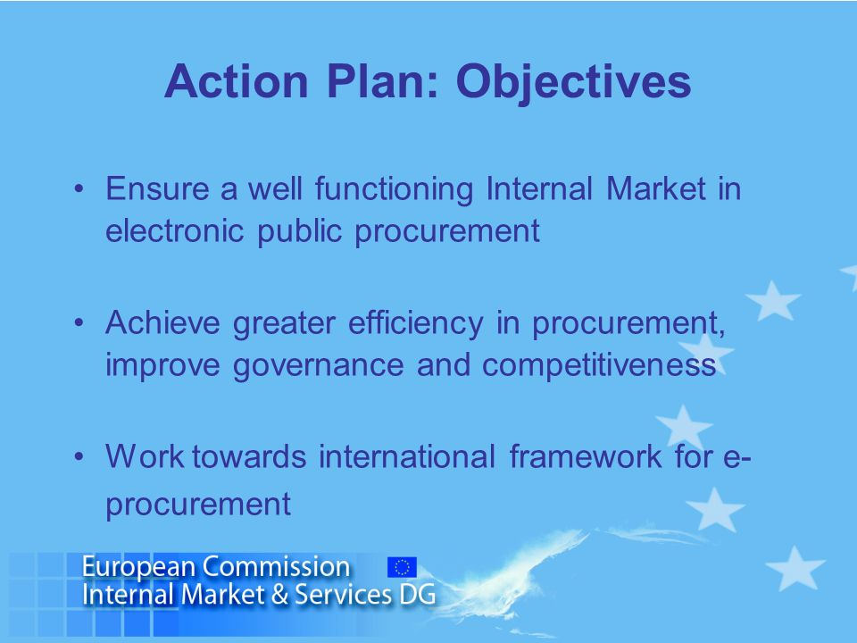 Action Plan: Objectives