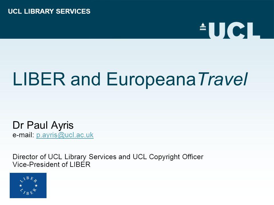 LIBER and EuropeanaTravel