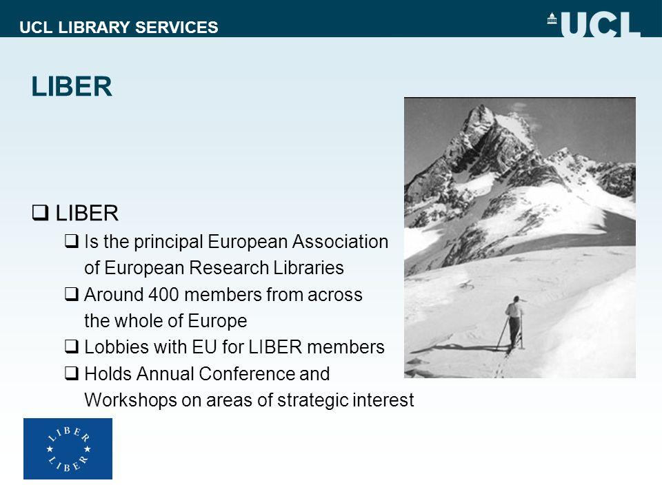 LIBER LIBER Is the principal European Association