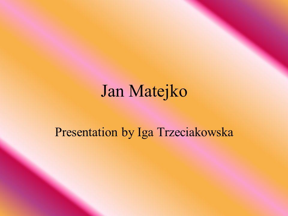 Presentation by Iga Trzeciakowska
