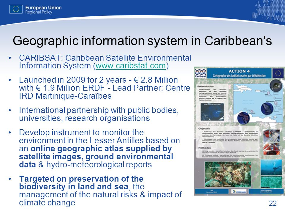 Geographic information system in Caribbean s