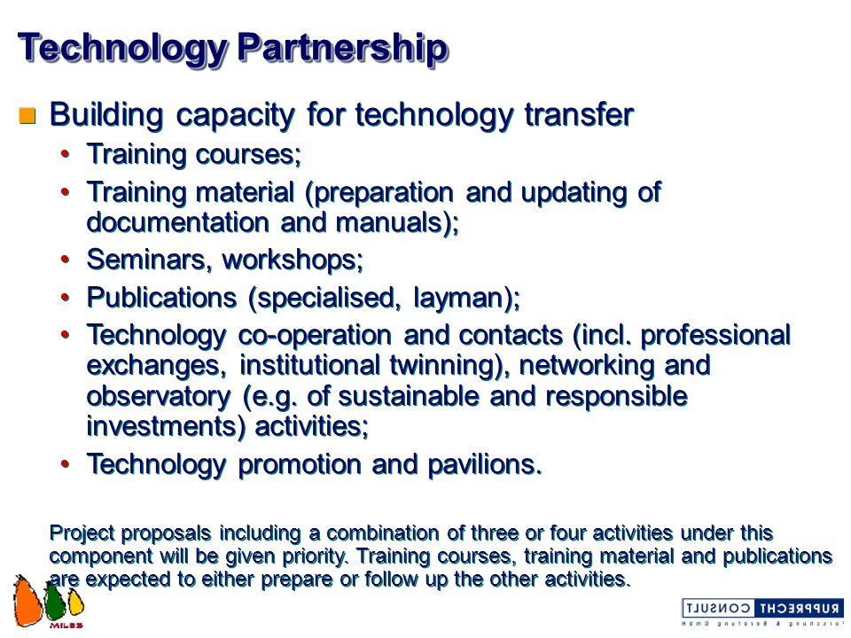 Technology Partnership