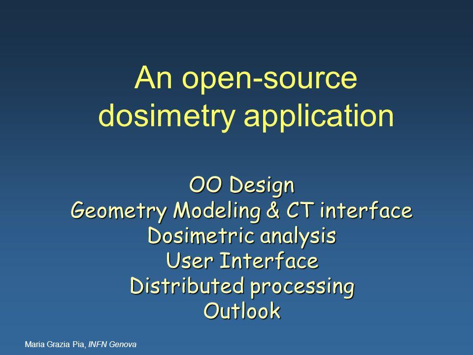 An open-source dosimetry application