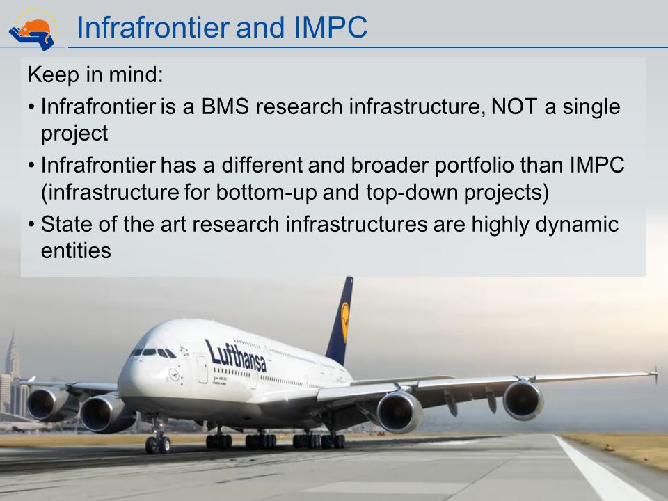 Infrafrontier and IMPC