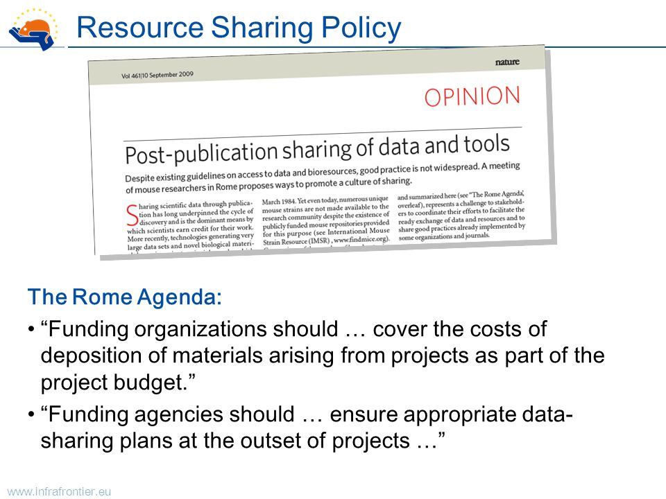 Resource Sharing Policy