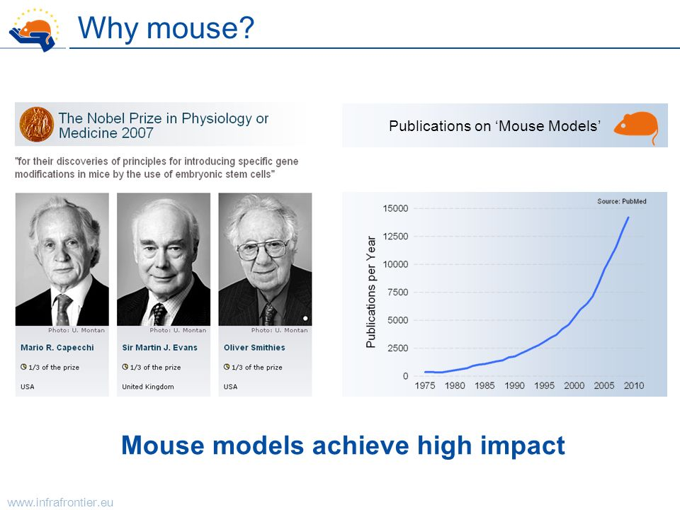 Mouse models achieve high impact
