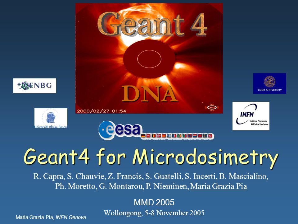 Geant4 for Microdosimetry