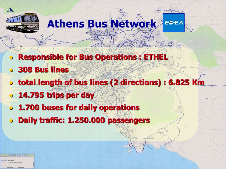 Athens Bus Network Responsible for Bus Operations : ETHEL