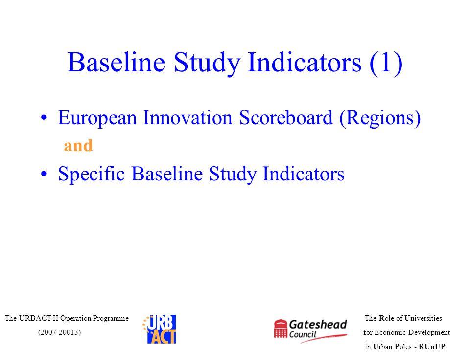 Baseline Study Indicators (1)