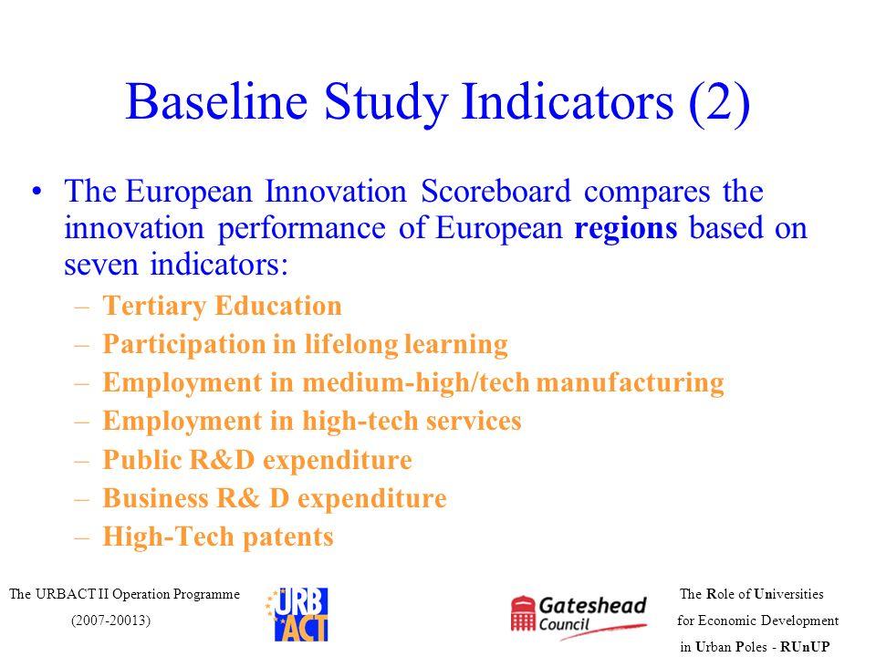 Baseline Study Indicators (2)