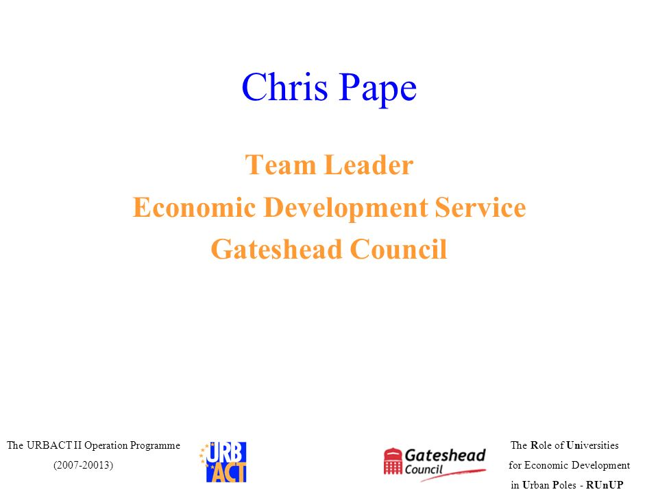 Economic Development Service
