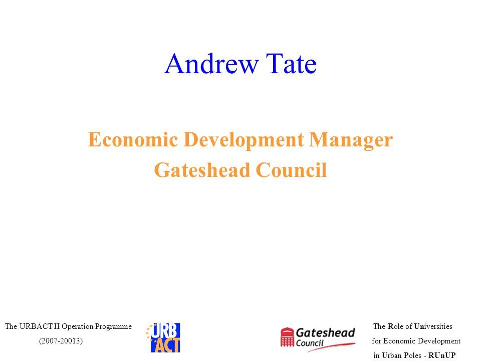 Economic Development Manager