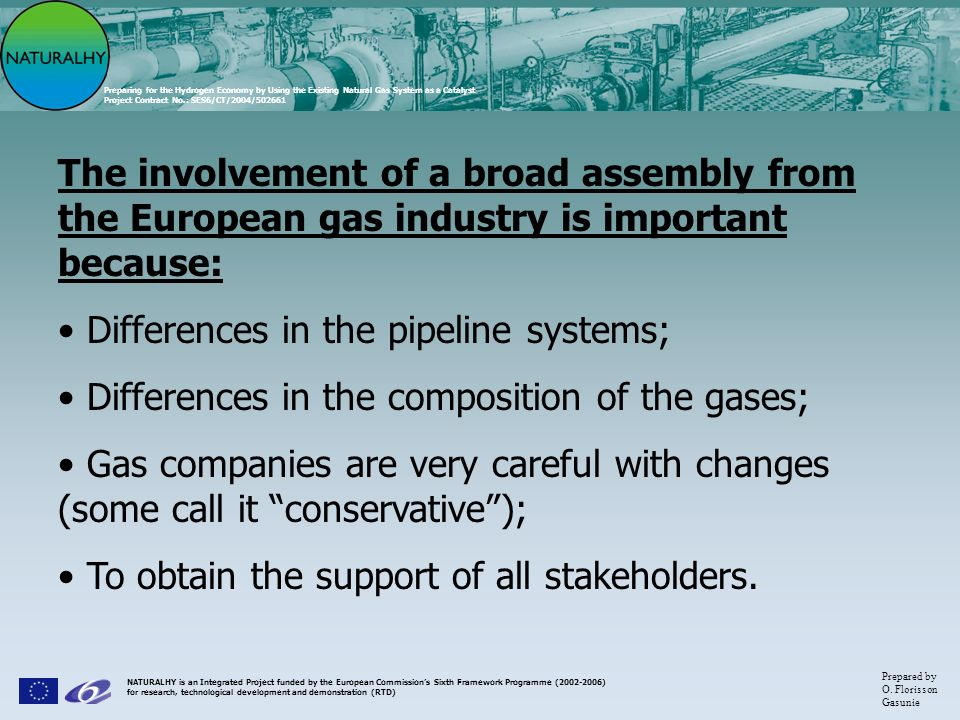 Differences in the pipeline systems;