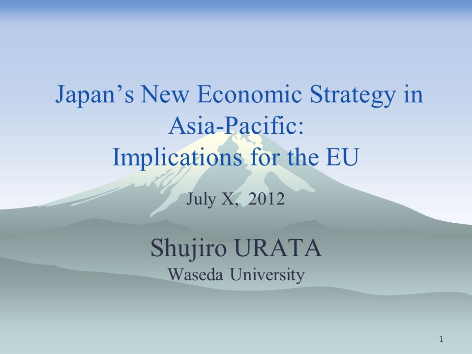 a review of economy and economic strategies of japan Scale economies existed due to geographic concentration, to growth of the  national  the appendix reviews quantitative evidence concerning these points.