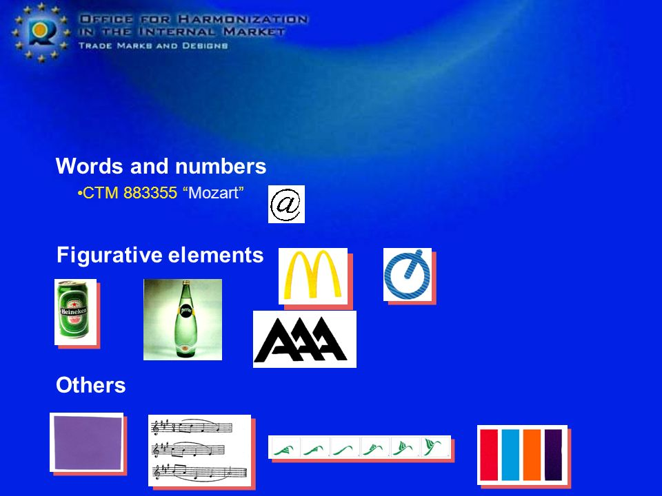 Words and numbers CTM 883355 Mozart Figurative elements Others