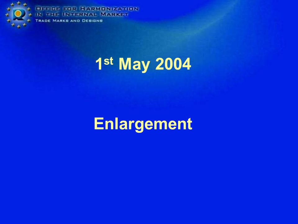 1st May 2004 Enlargement