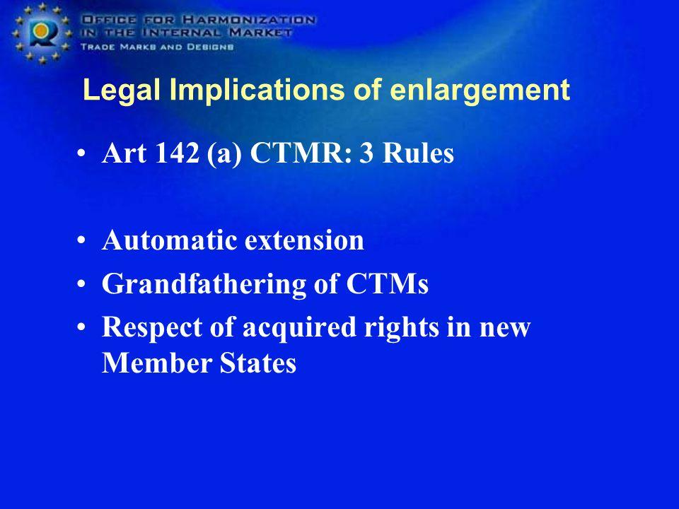 Legal Implications of enlargement