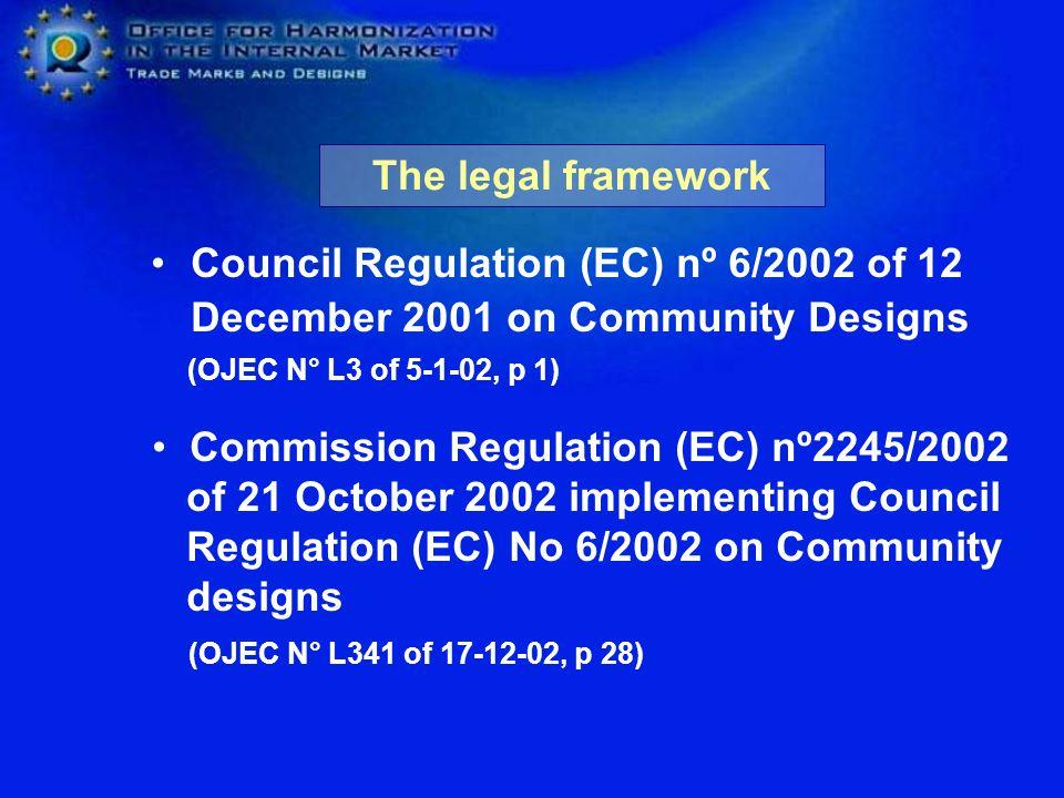Commission Regulation (EC) nº2245/2002