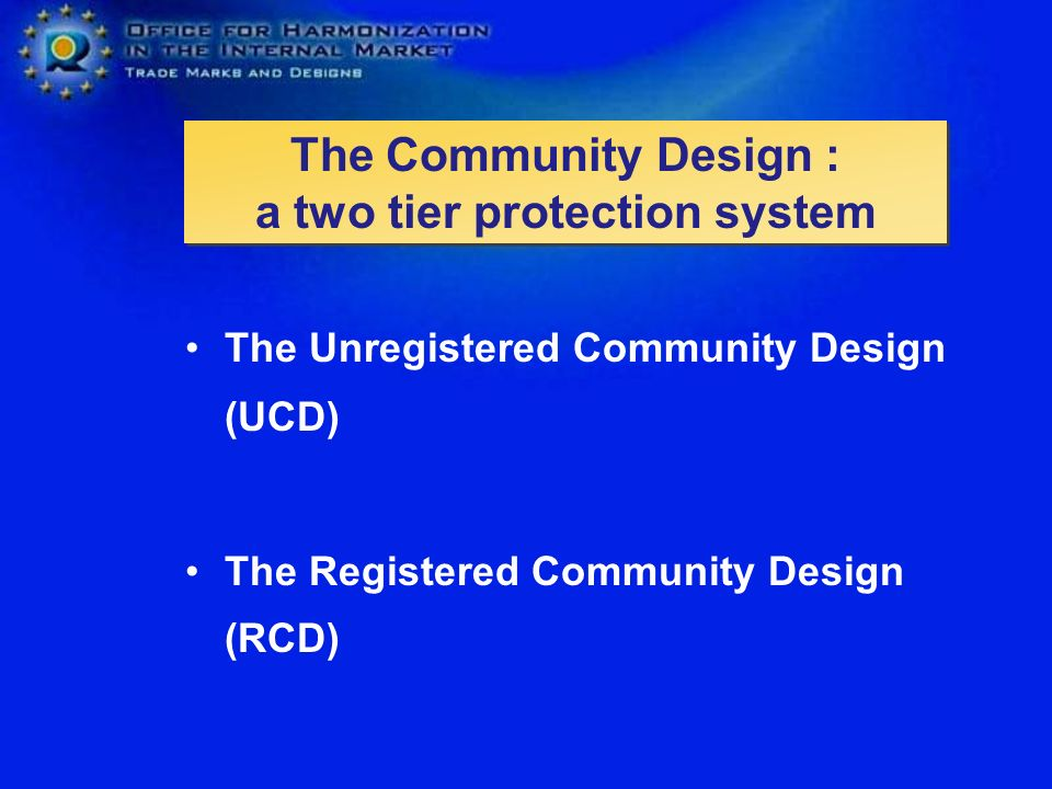 The Community Design : a two tier protection system