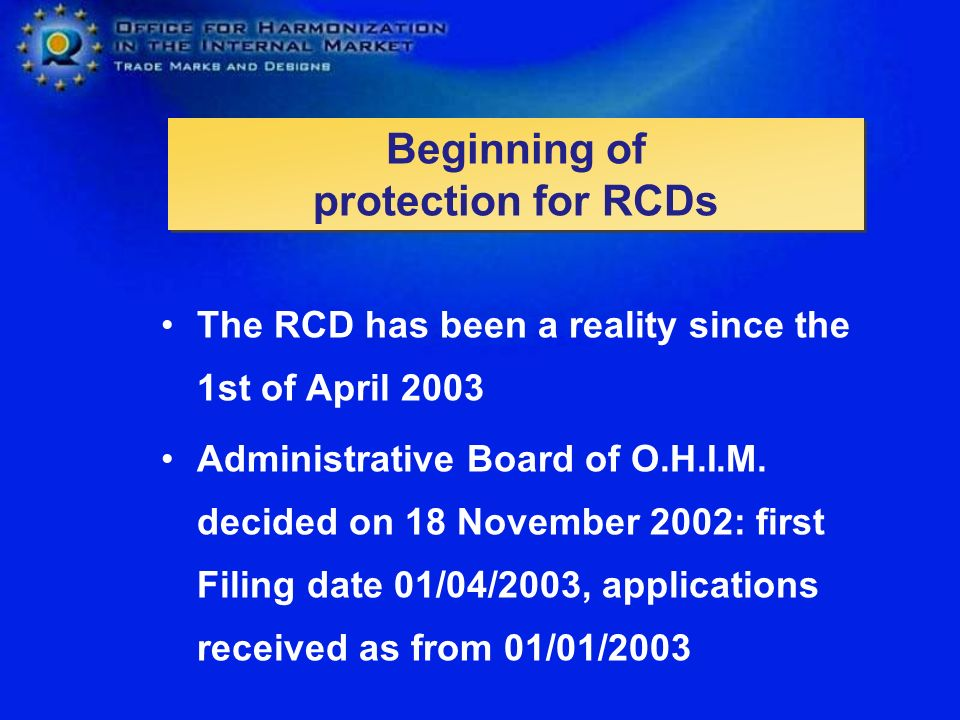 Beginning of protection for RCDs