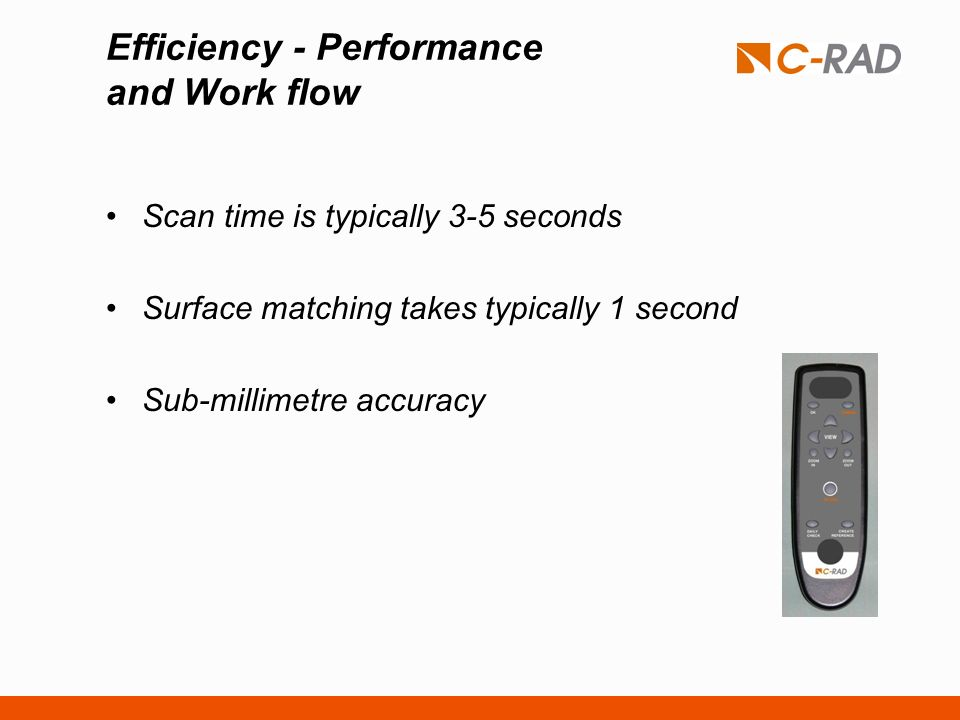 Efficiency - Performance and Work flow