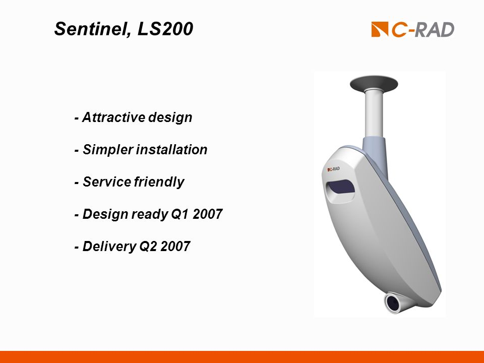 Sentinel, LS200 - Attractive design - Simpler installation