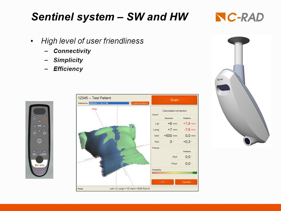 Sentinel system – SW and HW