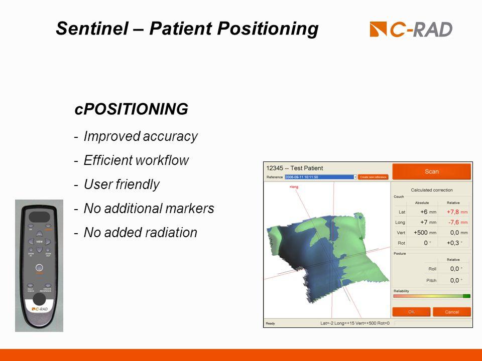 Sentinel – Patient Positioning