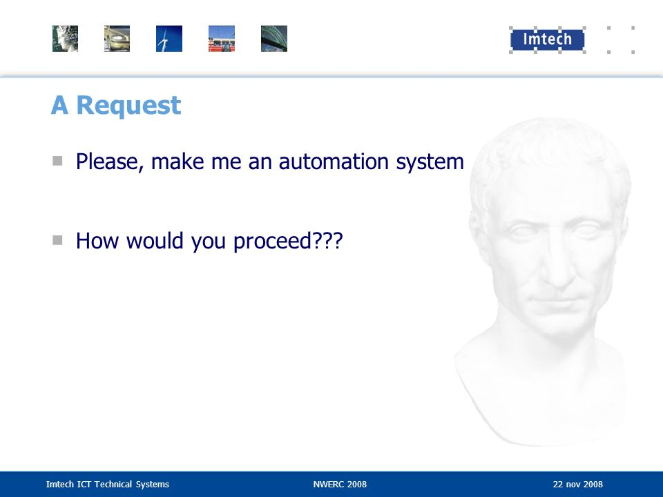A Request Please, make me an automation system