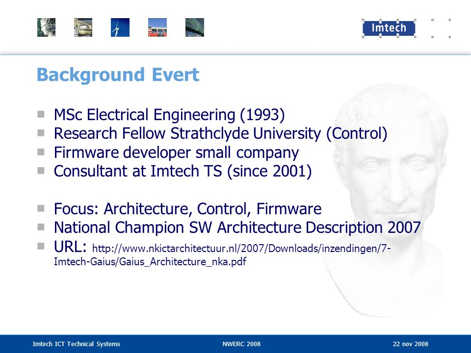 Background Evert MSc Electrical Engineering (1993)