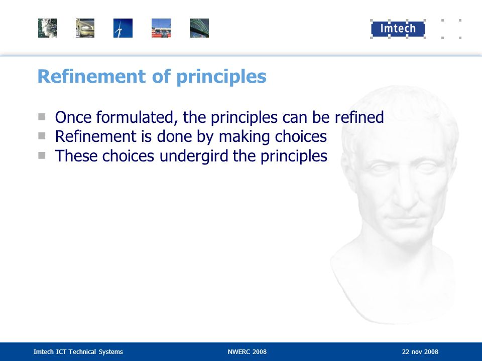 Refinement of principles