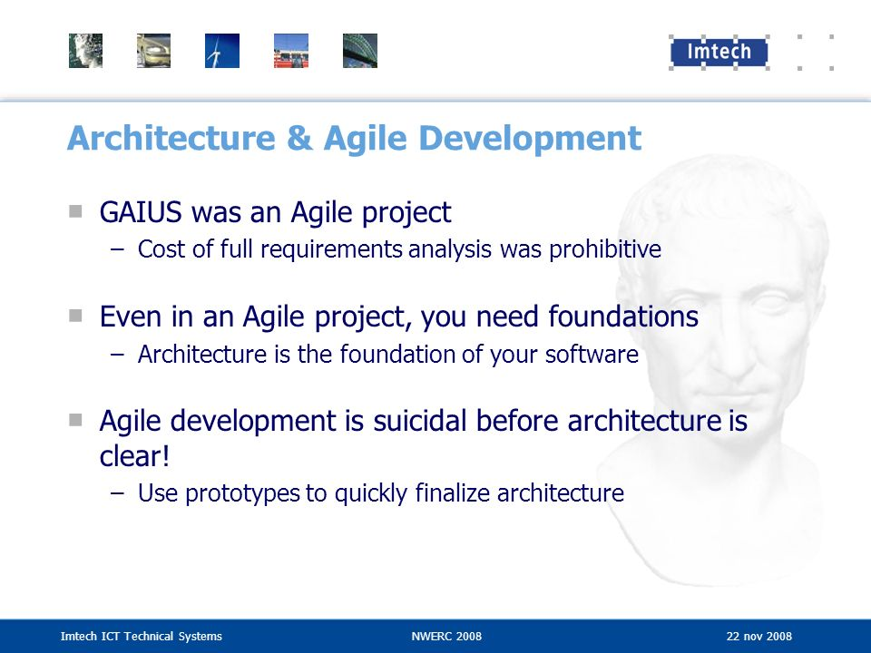 Architecture & Agile Development