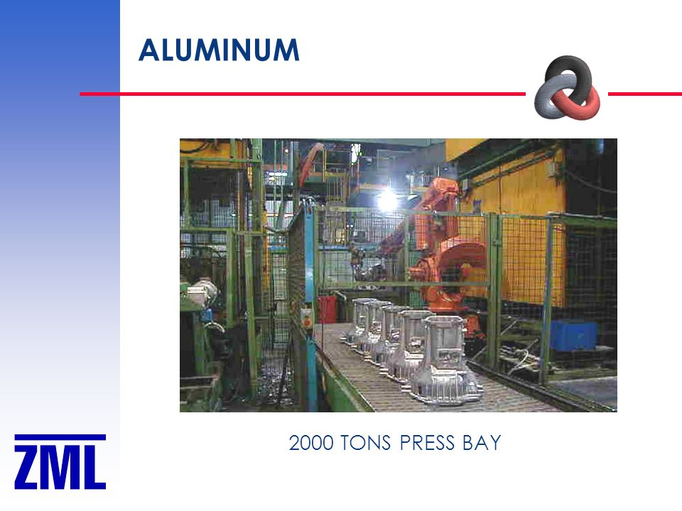 ALUMINUM 2000 TONS PRESS BAY