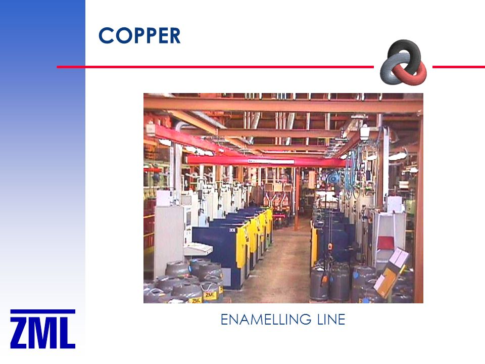 COPPER ENAMELLING LINE