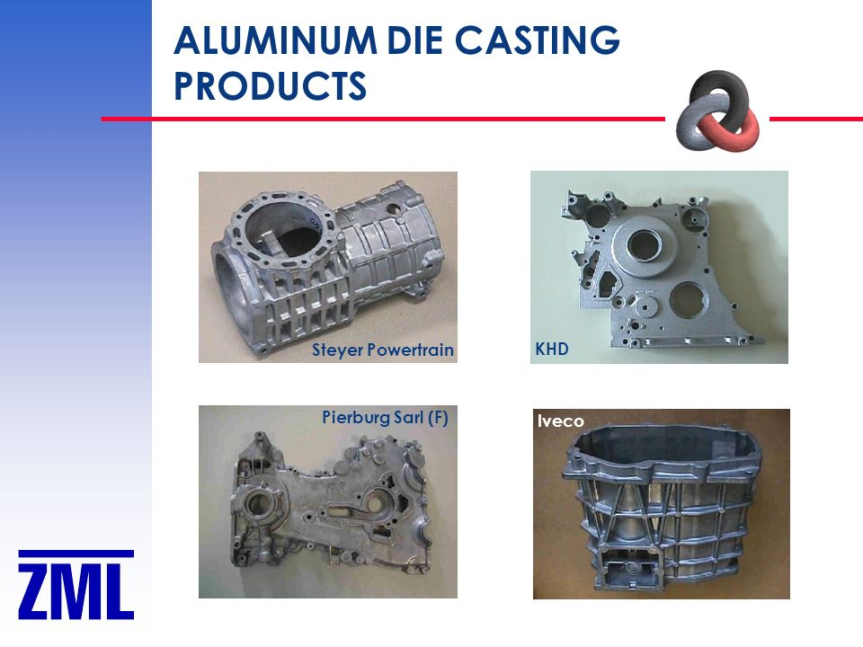 ALUMINUM DIE CASTING PRODUCTS Steyer Powertrain KHD Pierburg Sarl (F)