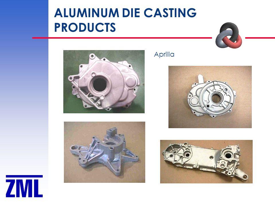 ALUMINUM DIE CASTING PRODUCTS Aprilia