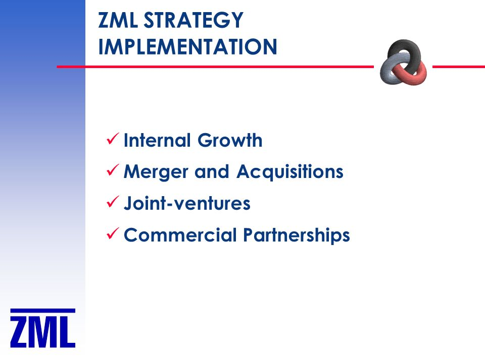 ZML STRATEGY IMPLEMENTATION