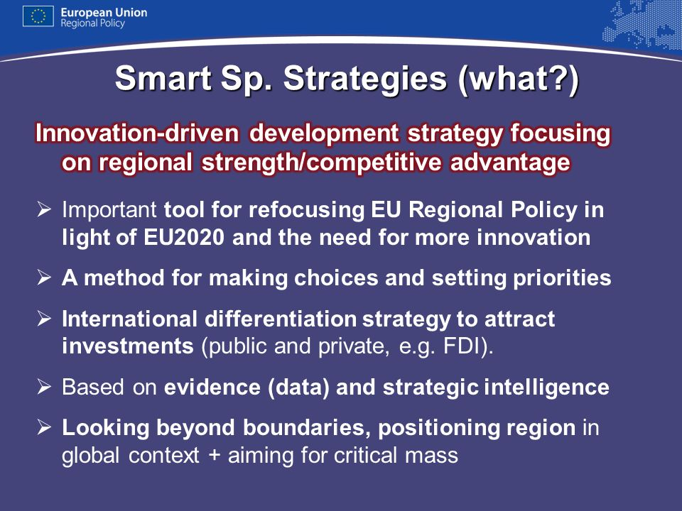 Smart Sp. Strategies (what )