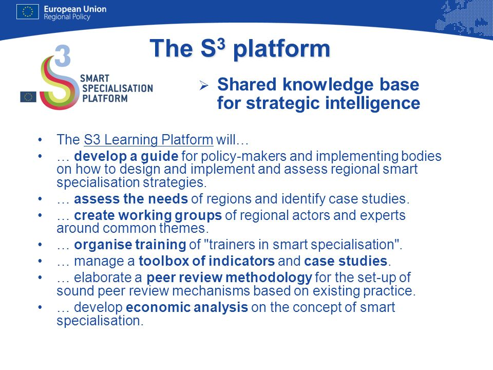 The S3 platform Shared knowledge base for strategic intelligence