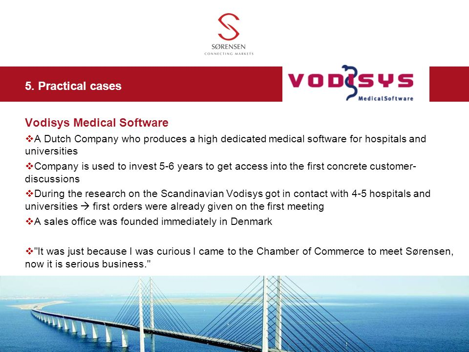 Vodisys Medical Software