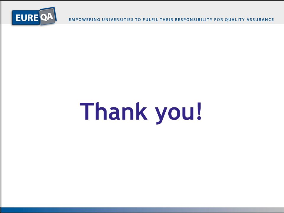 Thank you! EQUIPMENT – with WB partners only
