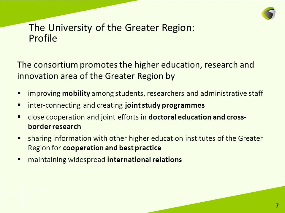 The University of the Greater Region: Profile