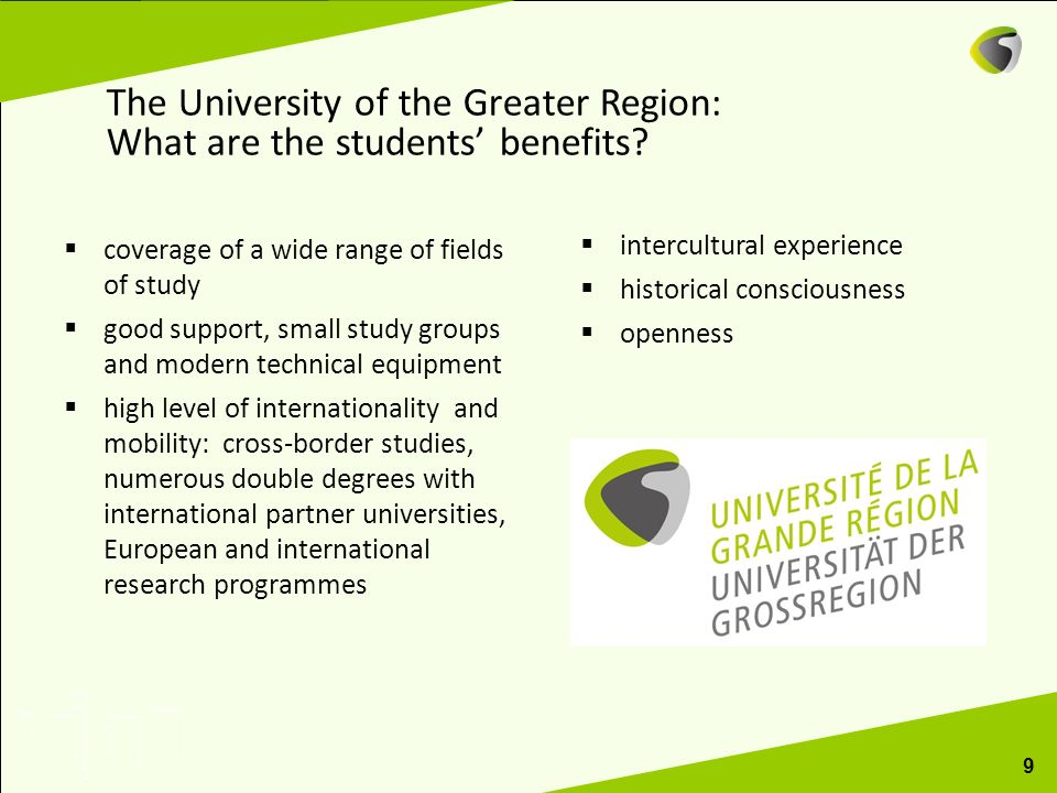 The University of the Greater Region: What are the students' benefits