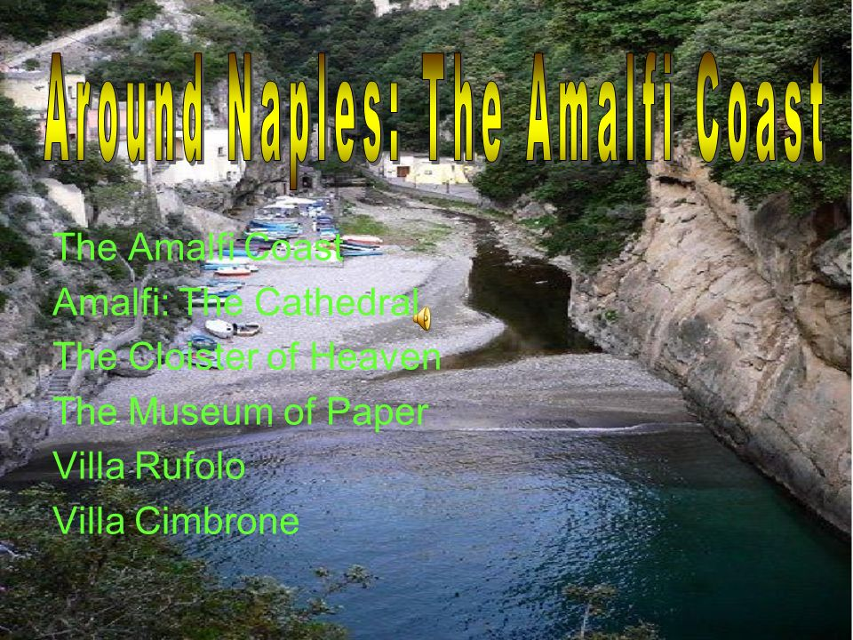 Around Naples: The Amalfi Coast