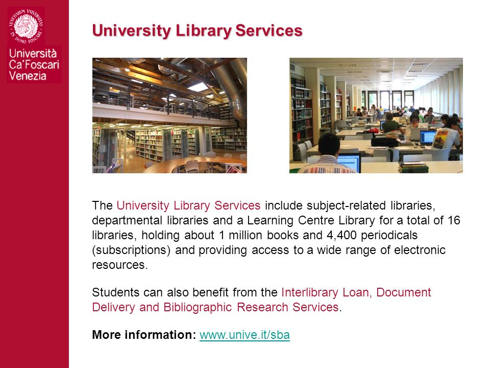 University Library Services