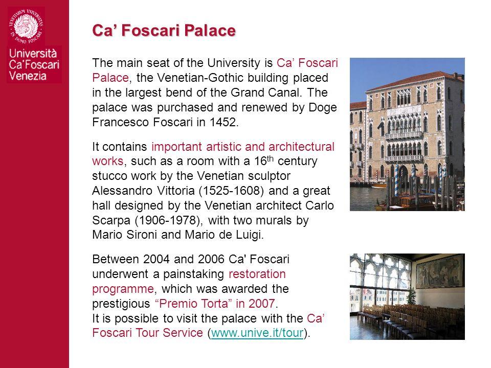 Ca' Foscari Palace